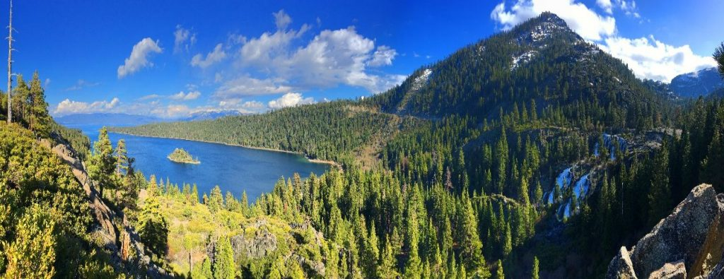 Sightseeing tour around Lake Tahoe